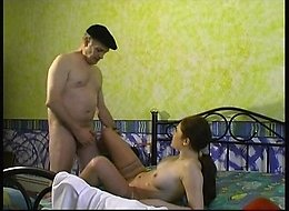 Brunette whore caters to men of all ages