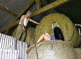 Obedient stunning naughty babes are fond of rolling in the hay with their prurient stiff old daddies